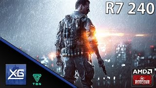 Battlefield 4 On AMD Radeon R7 240 2GB GDDR3
