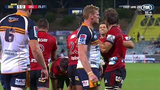 HIGHLIGHTS: 2018 Super Rugby Week 11: Brumbies v Crusaders