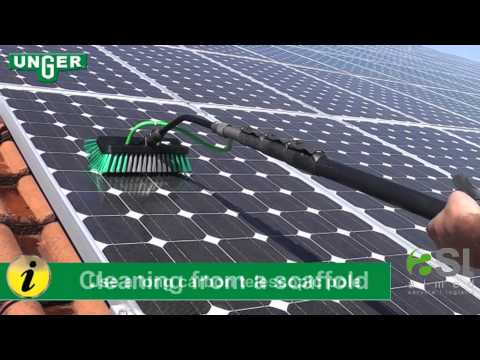 solarcleaning with UNGER HiFlo System