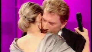"""Johnny et Laeticia """"Je t'aime, je t'aime ,je t'aime"""""""
