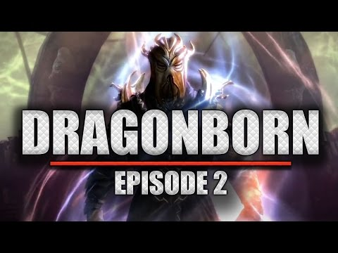 Let's Play Skyrim: Dragonborn #02 - Ankunft in Rabenfels [HD] [Deutsch]