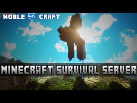 Minecraft Survival Server 1.8 - Noble Craft
