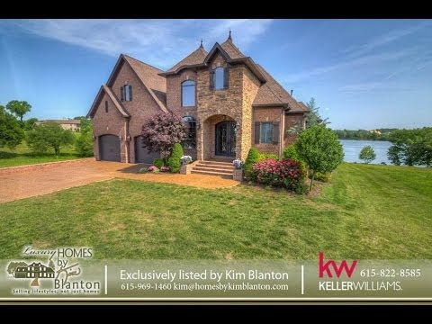 Waterfront Lake Home in Fairvue Plantation Gallatin TN