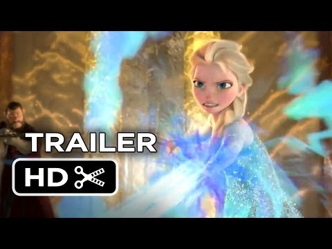 Frozen TRAILER - Elsa (2013) - Kristen Bell Disney Princess Movie HD