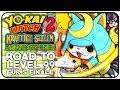 HEUTE KLAPPTS! ROAD TO LEVEL 99 für Shogunyan, Graf Karies & Co. - Runde 4! | Yo-Kai Watch 2