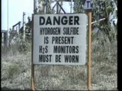 Hydrogen Sulfide Hazard at an Oil Drilling Site 1983 California Dept of Conservation