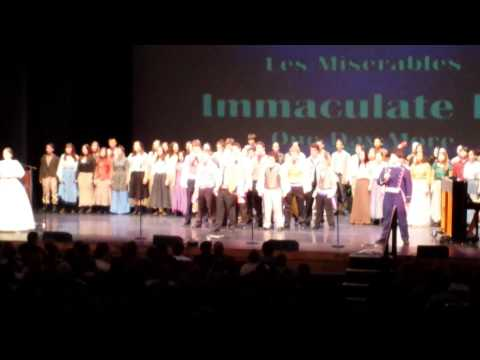 Halo 2014 Immaculate High School Les Miserables