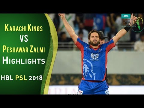 Full Highlights   Karachi Kings Vs Peshawar Zalmi   Match 7   25 February   HBL PSL 2018   PSL thumbnail