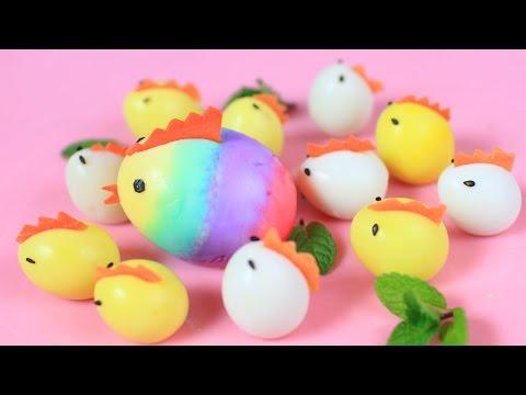 Easter Chicken-Shaped Eggs - Húsvéti csirke alakú tojás