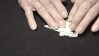 dollar bill origami elephant