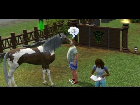 The Sims 3 Oynuyoruz - At Yarışlarına Hazırlık
