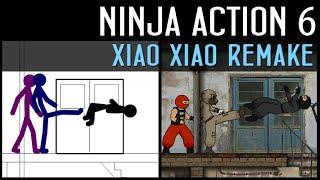 Ninja Action 6: Xiao Xiao Remake l Ниндзя в деле 6