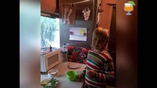 Рецепт безалкогольного Мохито. Кулинарные рецепты для детей.  Дети готовит сами.