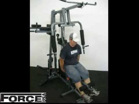 Force Usa 1360 Home Gym Exercises Fitness Equipment And