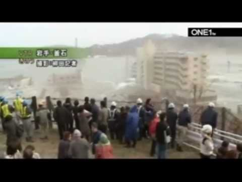Dramatic Japan Tsunami Video
