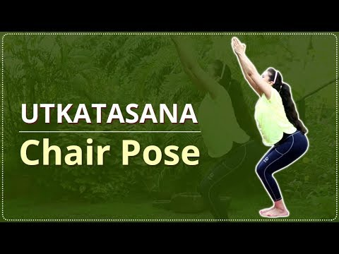 How To Do Chair POSE | Step By Step Utkatasana | Yoga For BEGINNERS | Simple Yoga Lessons