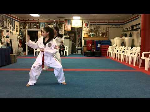 Black Belt testing: poomse Il Jang- Pal Jang