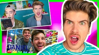 REACTING TO WEIRD COMPILATIONS OF ME!