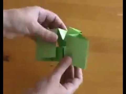 Оригами кубик-рубик