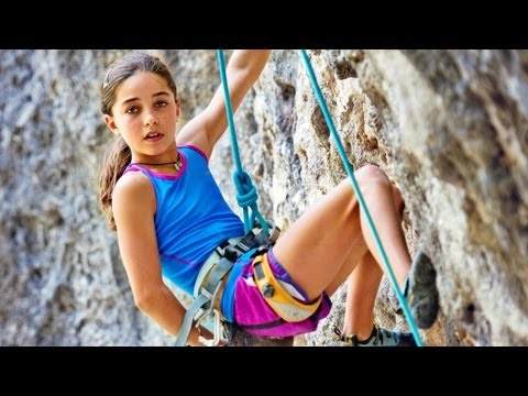 11-year-old Girl Shatters Climbing Records video