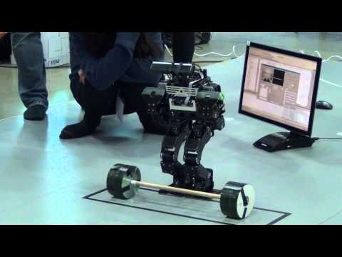 IRC2014:Humanoid Robot Olympics自律部門ウェイトリフティング競技02