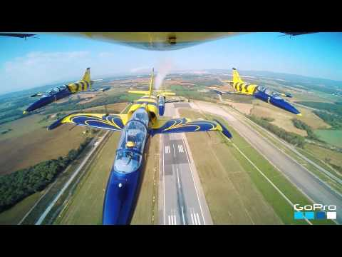 Baltic Bees Jet team GoPro