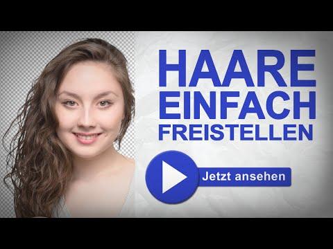 Haare freistellen in Photoshop ganz einfach I marcusfotos.de