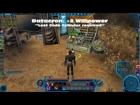 SWTOR Datacron Locations Balmorra Sith Empire
