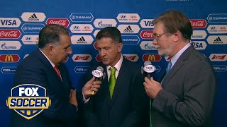 Mexico coach Osorio reacts to the draw | 2017 FIFA Confederations Cup Draw