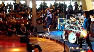 All-Star jam on board the 70000 tons of metal 2013
