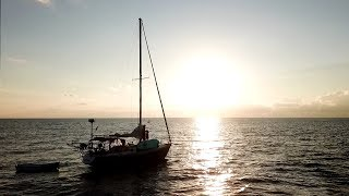 GREAT BAHAMA BANK OVERNIGHT ANCHORING | Sailboat Story 105