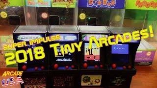 New 2018 Super Impulse Tiny Arcade Releases!