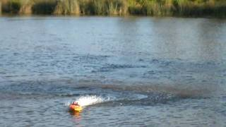 nqd rc jet boat. sickly powerful (almost). brushless 11.1v