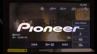 Video Playback compare SONY XAV-65 VS Pioneer AVH-160DVD