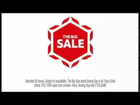 Tesco - The Big Sale - Christmas 2012