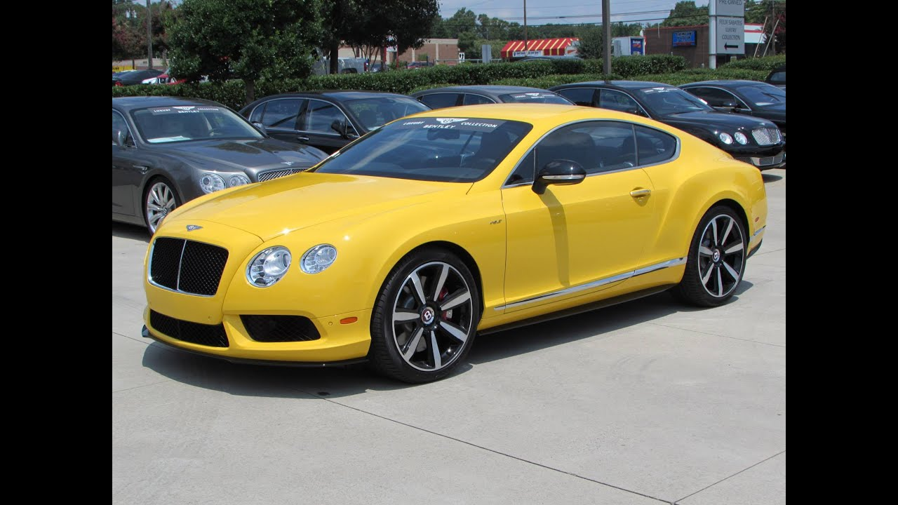2014 Bentley Continental Gt V8 S Start Up Exhaust And In