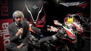 Aprilia Racing Team 2013 presentation – Luigi Dall'Igna interview