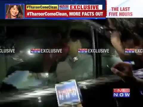 Shashi Tharoor again evades questions