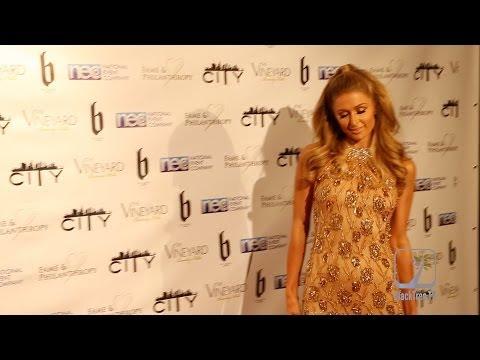 Paris Hilton Hits The Carpet For City Project Post Oscar Gala video