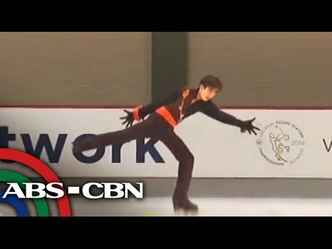 Pinoy figure skater dreams big in Sochi, Russia