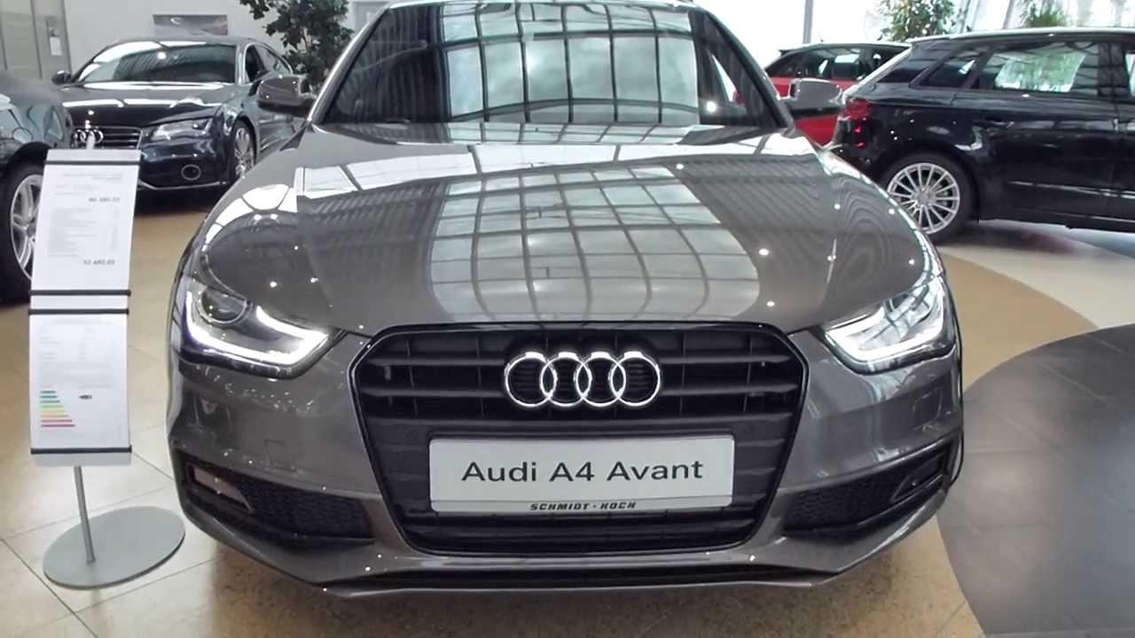 Audi A3 Vs A4 >> 2014 Audi A4 Avant ''S-Line'' Exterior & Interior 2.0 TDI * see also Playlist - YouTube
