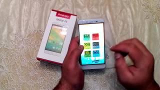 Обзор смартфон Prestigio Grace Z5