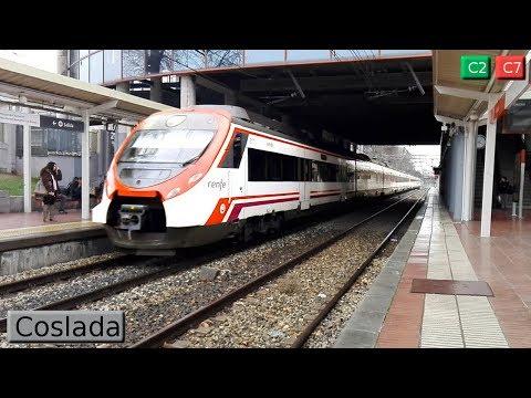 Coslada C2 - C7 : Cercanías Madrid ( Renfe Civia - 446 )
