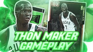 RUBY THON MAKER IS THE BEST BUDGET CARD EVER! OMG HE CAN SPEED BOOST! NBA 2K19 MYTEAM GAMEPLAY