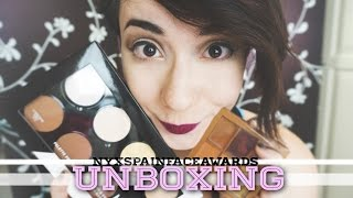 Unboxing #NyxSpainFaceAwards Nyx | Chicandcakes