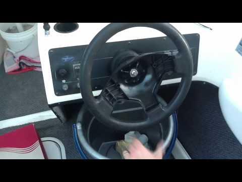 Replacing a Teleflex Boat Steering Wheel