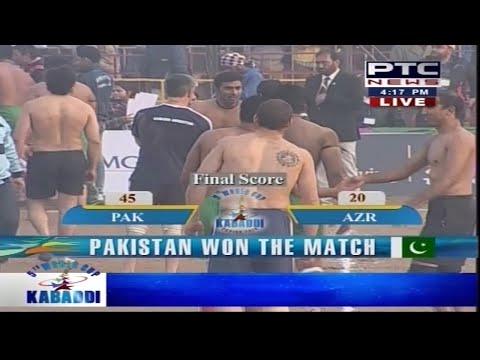 Pakistan vs Argentina   Men's   Day 10   5th World Cup Kabaddi Punjab 2014