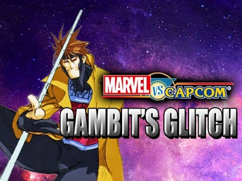 GAMBIT'S GLITCH - Marvel Vs. Capcom Classics (MVC1)