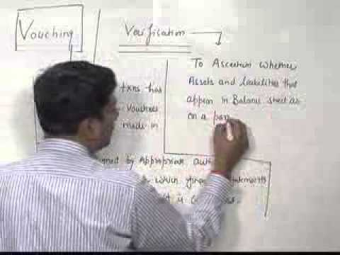 IPCC AUDITING- VOUCHING & VERIFICATION Lecture-1(Group 2)