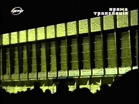 Проекционное 3D шоу в Луганске День города 07.09.2013